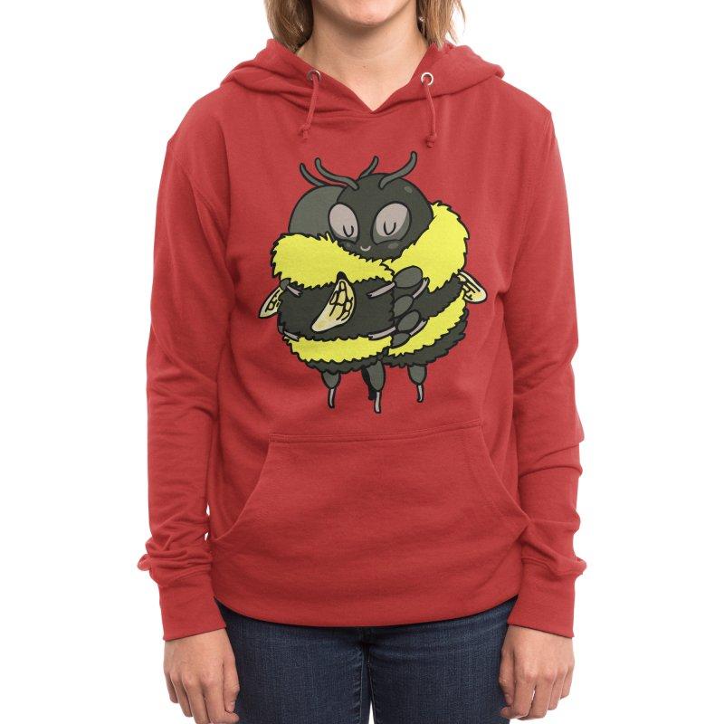 Bee hugs Women's Pullover Hoody by huebucket's Artist Shop