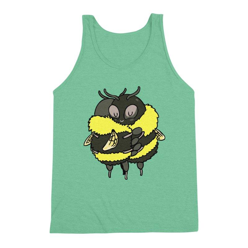 Bee hugs Men's Triblend Tank by huebucket's Artist Shop