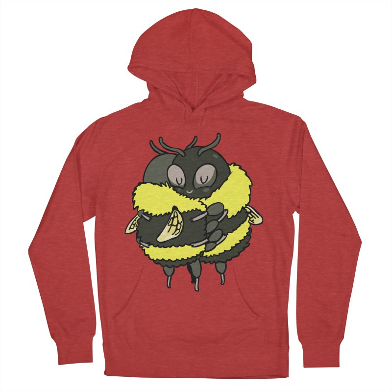 Bee hugs Men's French Terry Pullover Hoody by huebucket's Artist Shop