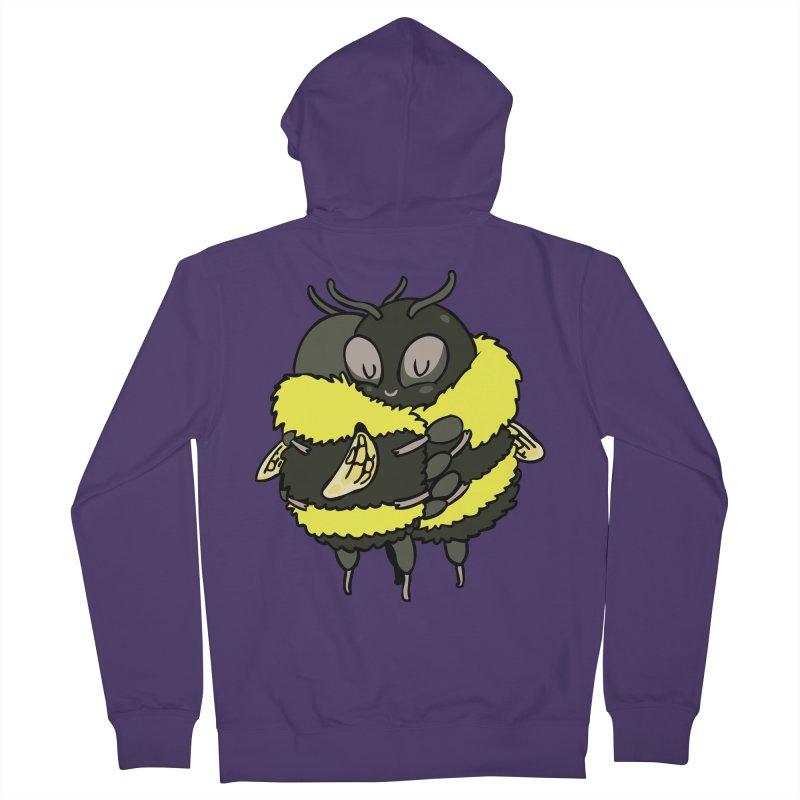 Bee hugs Women's French Terry Zip-Up Hoody by huebucket's Artist Shop