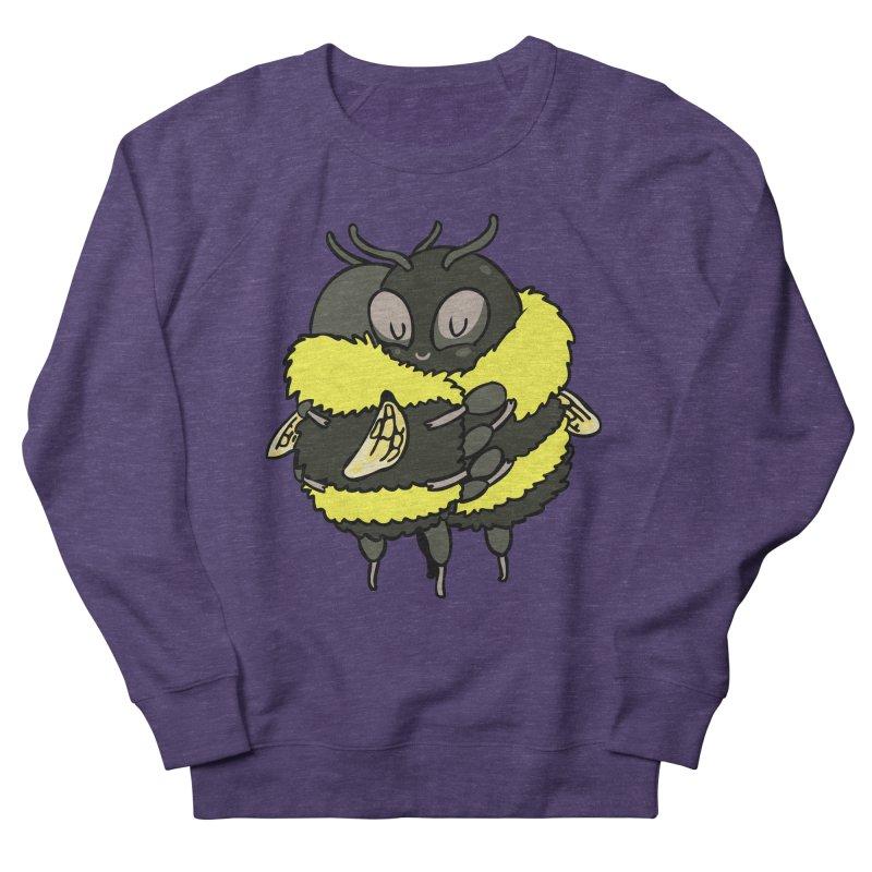 Bee hugs Men's French Terry Sweatshirt by huebucket's Artist Shop