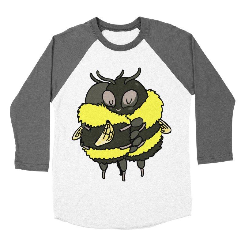 Bee hugs Women's Baseball Triblend Longsleeve T-Shirt by huebucket's Artist Shop