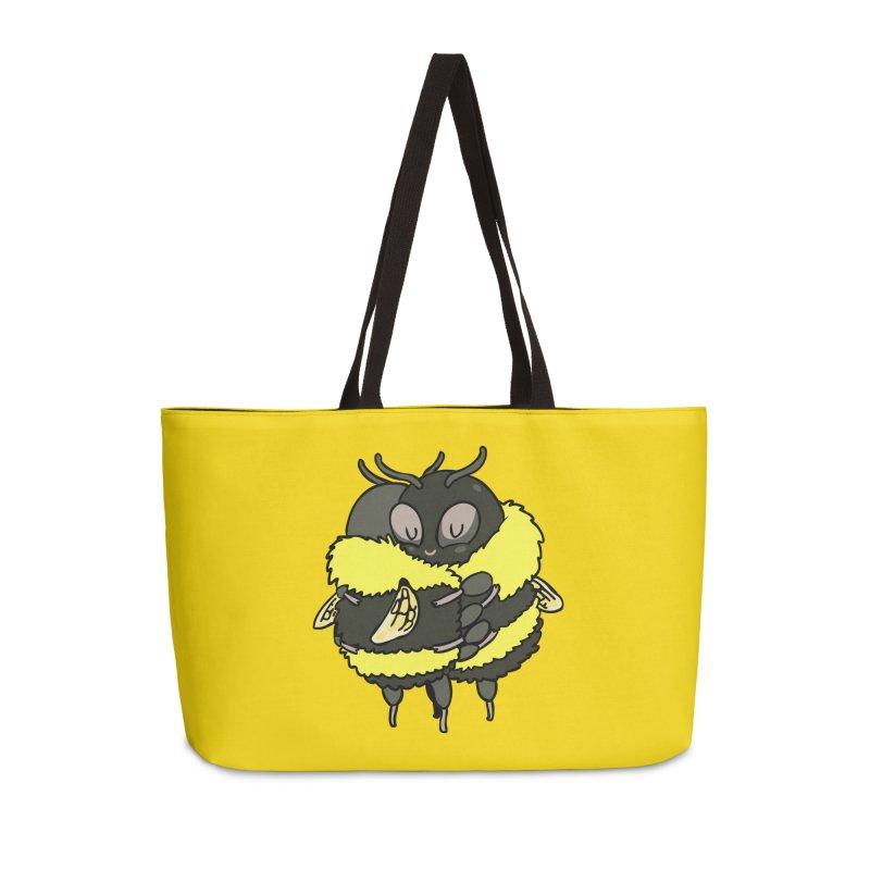 Bee hugs Accessories Weekender Bag Bag by huebucket's Artist Shop