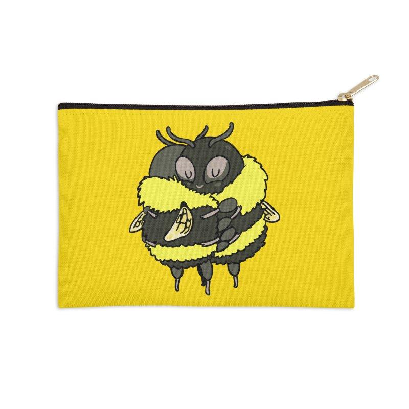 Bee hugs Accessories Zip Pouch by huebucket's Artist Shop