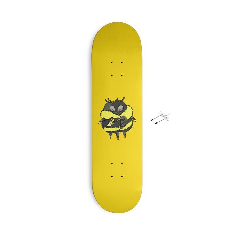 Bee hugs Accessories Skateboard by huebucket's Artist Shop