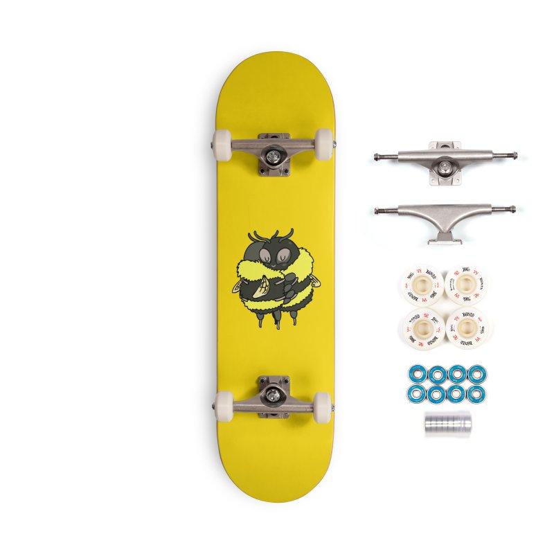 Bee hugs Accessories Complete - Premium Skateboard by huebucket's Artist Shop