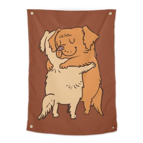 image for Golden Retriever hugs