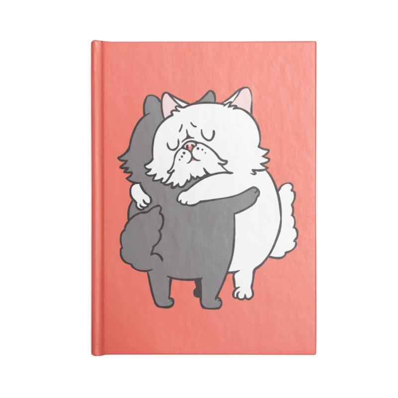 Persian Cat hugs Accessories Notebook by huebucket's Artist Shop