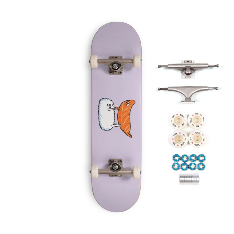Acroyoga Sushi Accessories Complete - Premium Skateboard by huebucket's Artist Shop