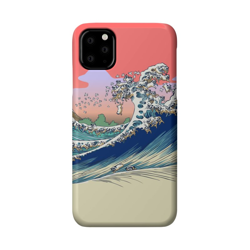 Fuji at Sea of Pugs Accessories Phone Case by huebucket's Artist Shop