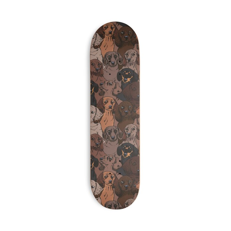 Social Dachshunds Accessories Skateboard by huebucket's Artist Shop