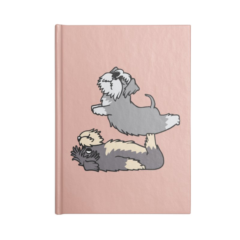 Acroyoga Schnauzer Accessories Notebook by huebucket's Artist Shop