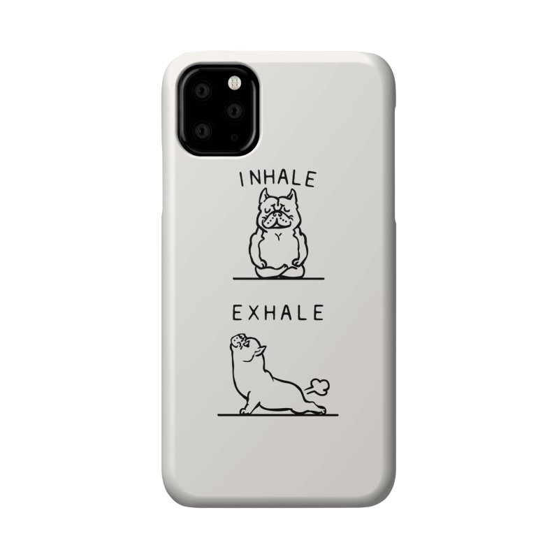Inhale Exhale American Bully Accessories Phone Case by huebucket's Artist Shop