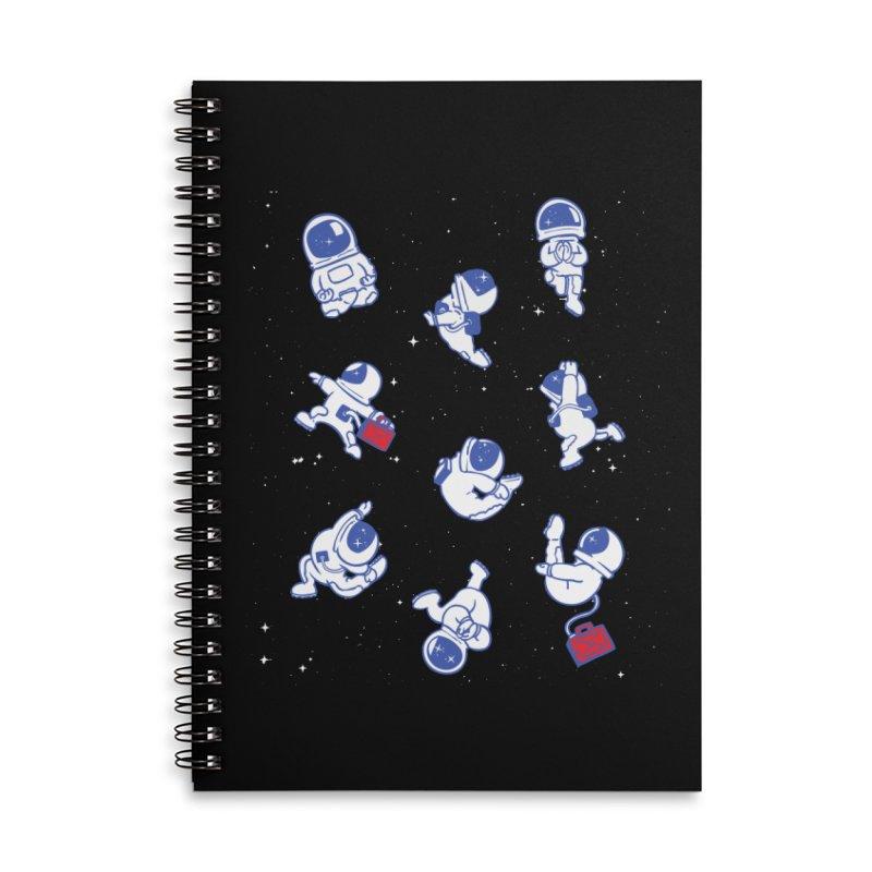 Astronaut Yoga Accessories Notebook by huebucket's Artist Shop