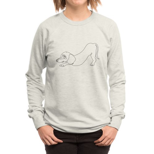 image for One line Dachshund Downward Dog