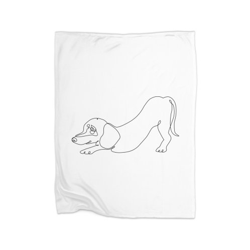 image for One line Dachshund Downward Dog