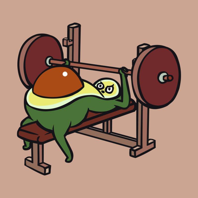 Avocado Bench Press by huebucket's Artist Shop
