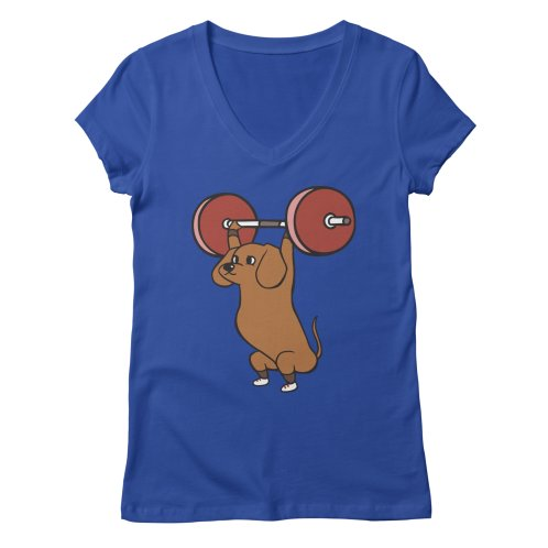 image for The snatch weightlifting Dachshund