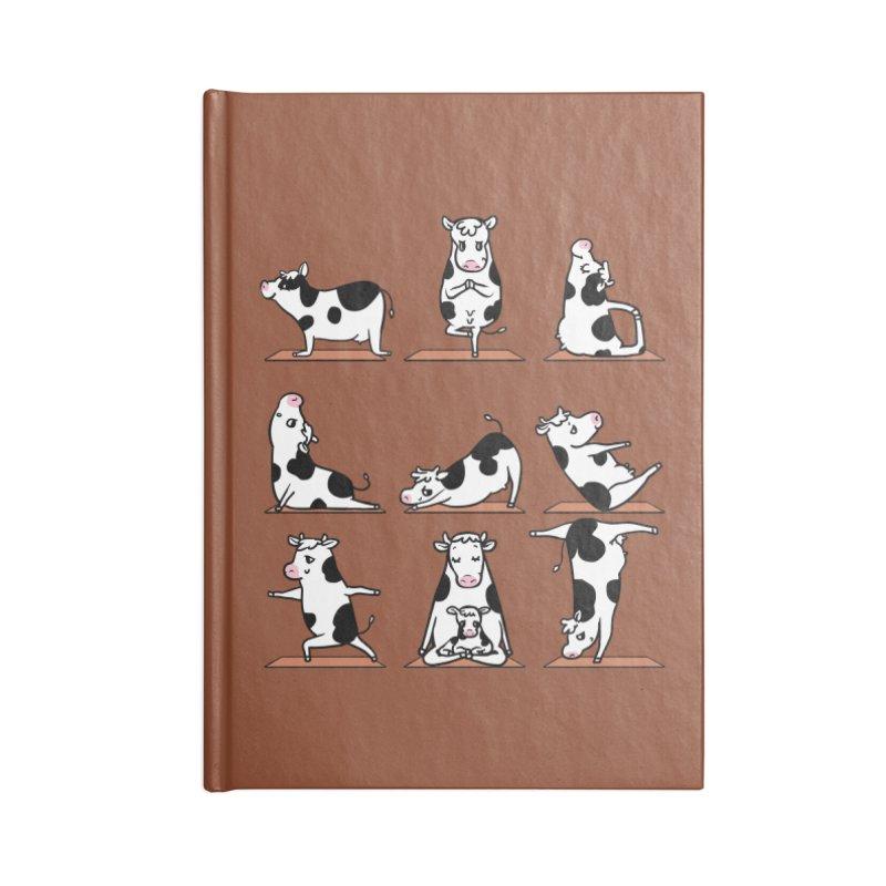 Moo Yoga Accessories Blank Journal Notebook by huebucket's Artist Shop