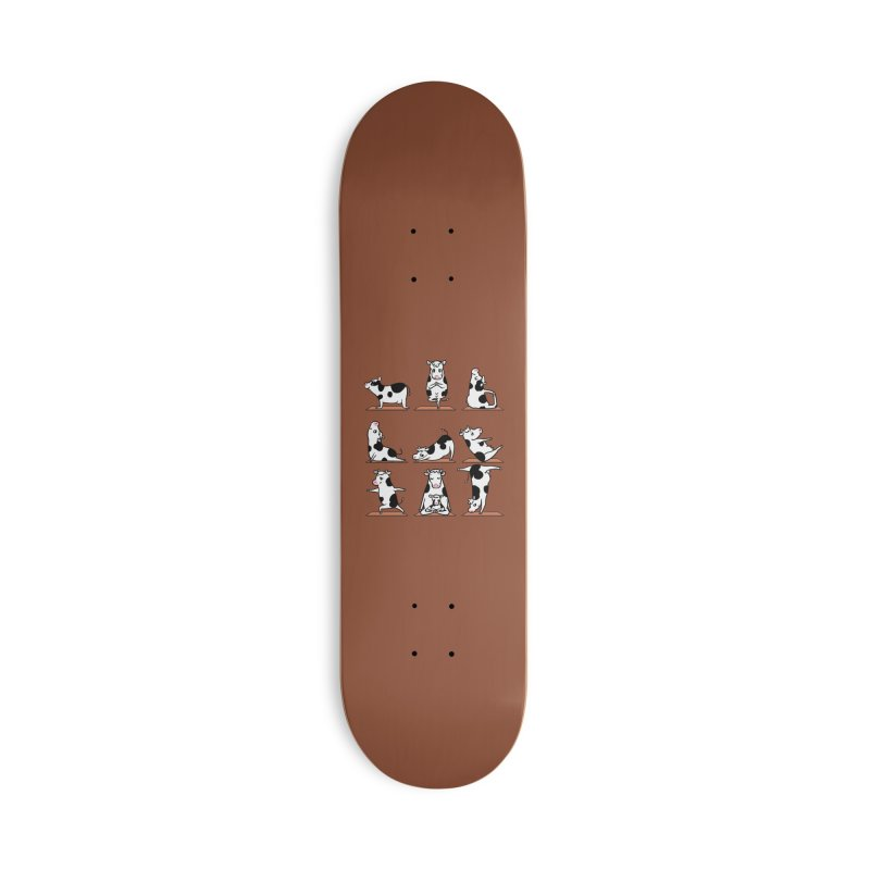 Moo Yoga Accessories Deck Only Skateboard by huebucket's Artist Shop
