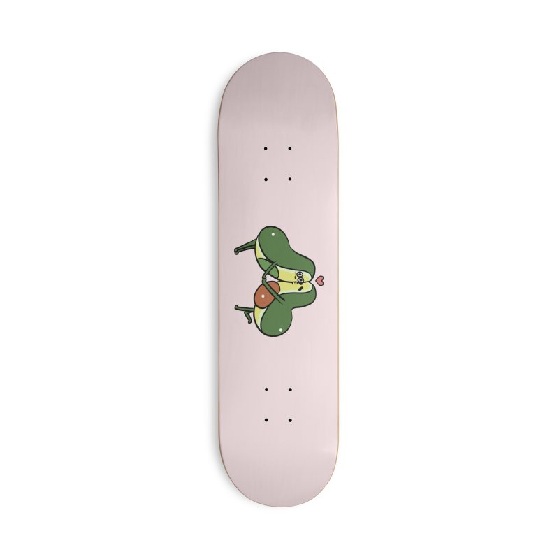 Avocado Kisses Accessories Deck Only Skateboard by huebucket's Artist Shop