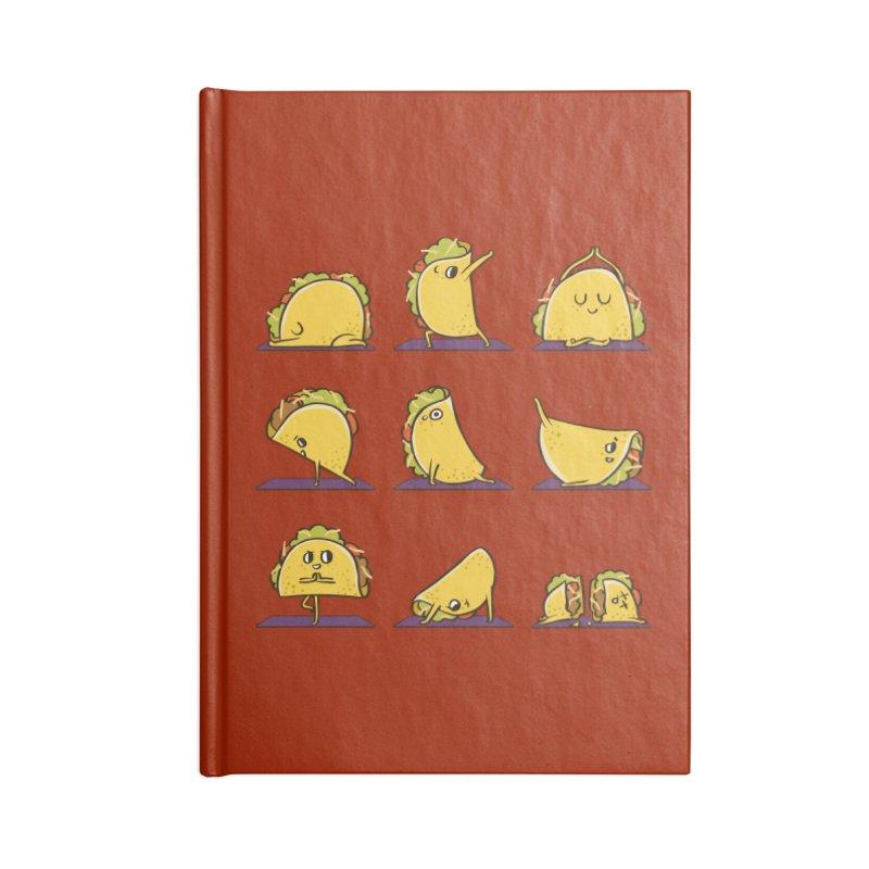 Taco Yoga Accessories Blank Journal Notebook by huebucket's Artist Shop