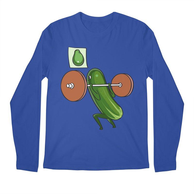 Cucumber Squats Men's Regular Longsleeve T-Shirt by huebucket's Artist Shop