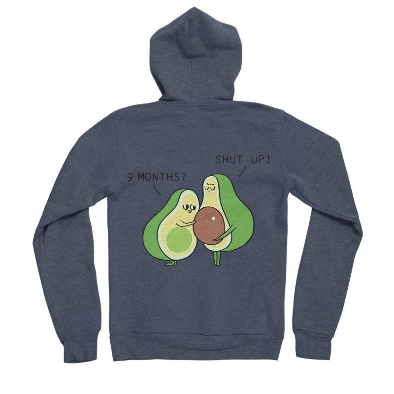 Good Fat Avocado Men's Sponge Fleece Zip-Up Hoody by huebucket's Artist Shop