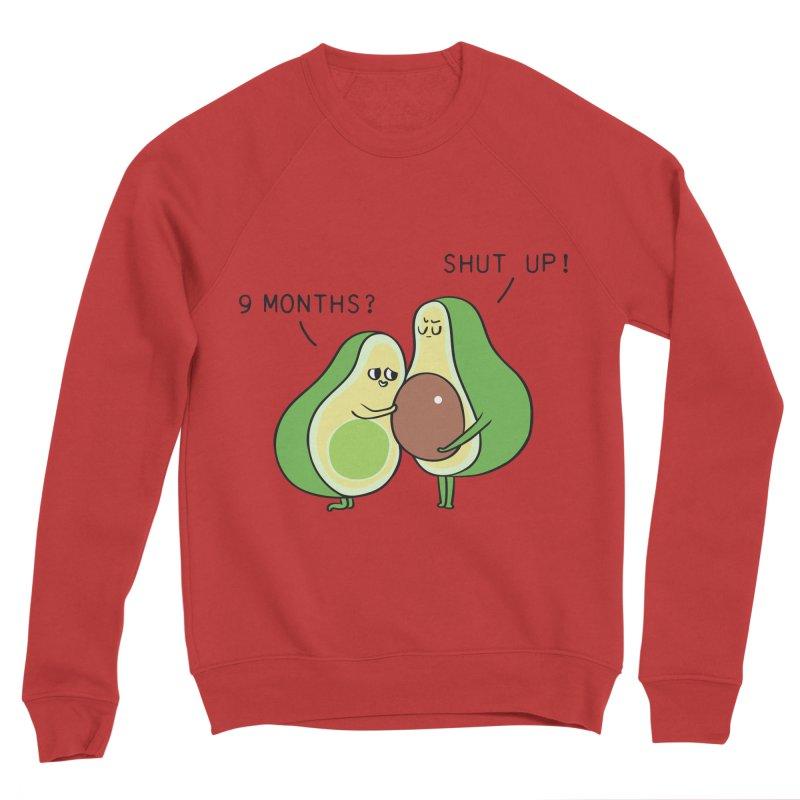 Good Fat Avocado Men's Sponge Fleece Sweatshirt by huebucket's Artist Shop