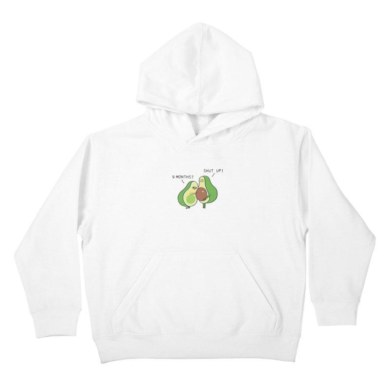 Good Fat Avocado Kids Pullover Hoody by huebucket's Artist Shop