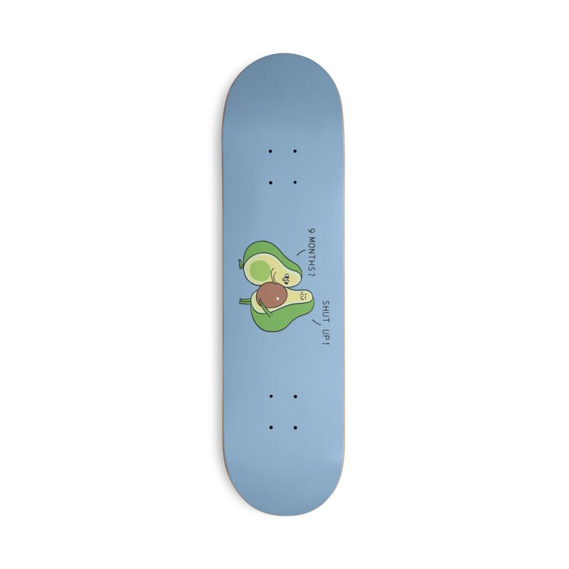 Good Fat Avocado Accessories Deck Only Skateboard by huebucket's Artist Shop