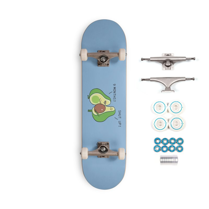 Good Fat Avocado Accessories Complete - Basic Skateboard by huebucket's Artist Shop