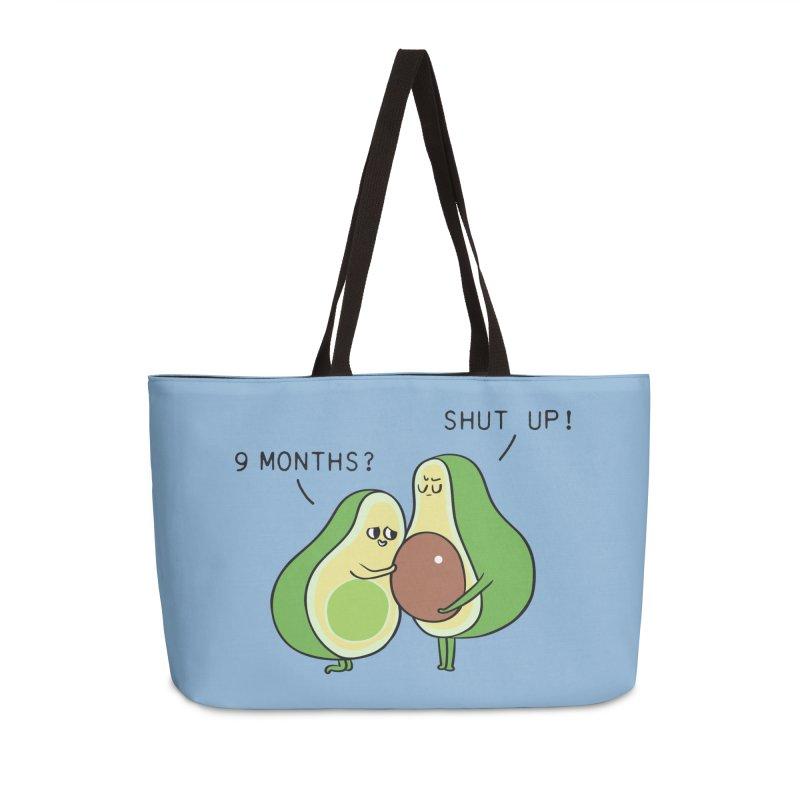 Good Fat Avocado Accessories Weekender Bag Bag by huebucket's Artist Shop
