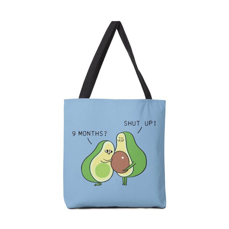 Good Fat Avocado Accessories Bag by huebucket's Artist Shop