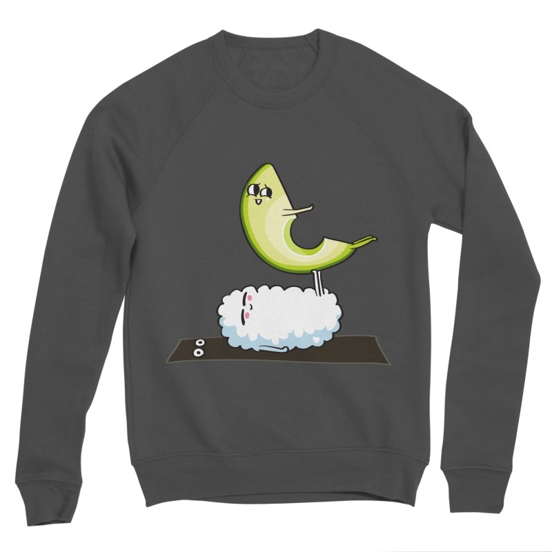 Acroyoga Avocado Nigiri Women's Sponge Fleece Sweatshirt by huebucket's Artist Shop