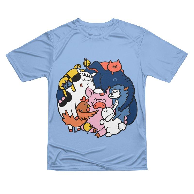 Vegan group hugs Women's T-Shirt by huebucket's Artist Shop