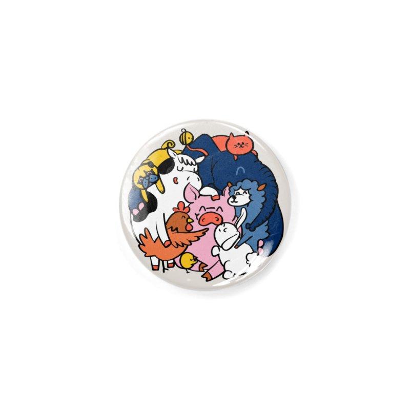 Vegan group hugs Accessories Button by huebucket's Artist Shop