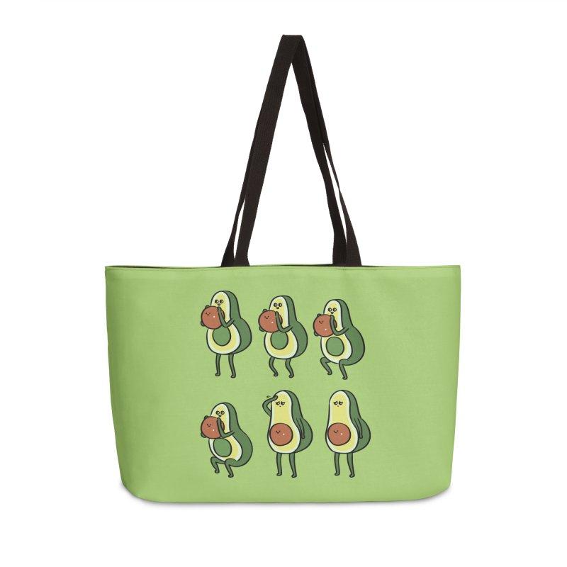 Avocado Goblet Squat Accessories Weekender Bag Bag by huebucket's Artist Shop