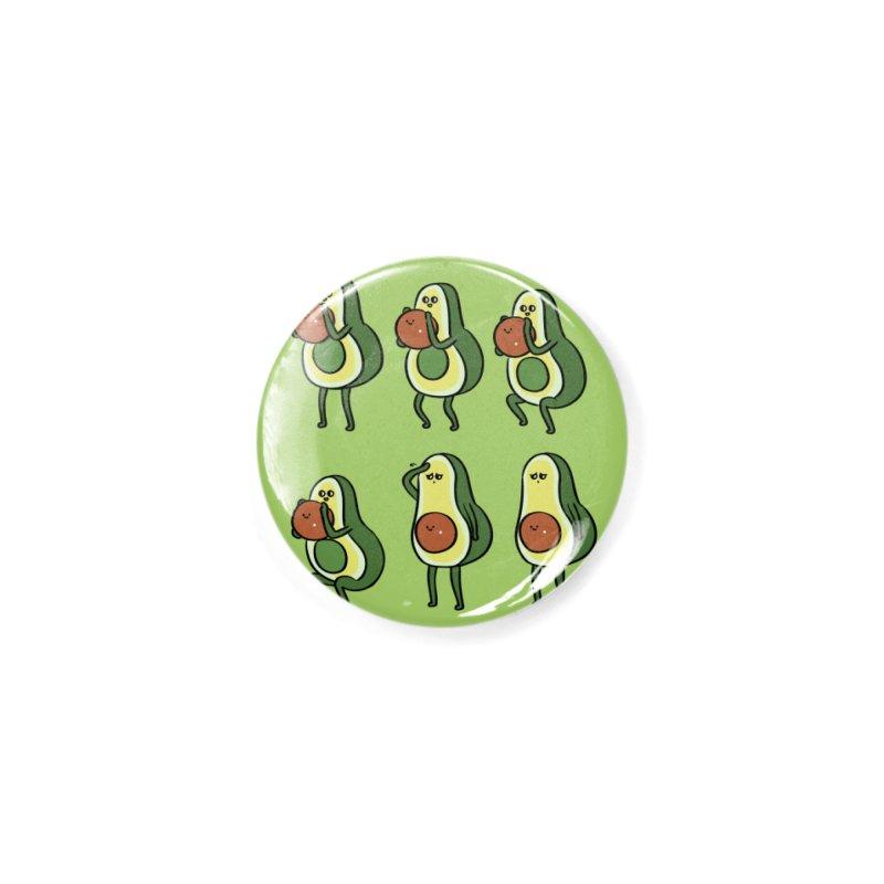 Avocado Goblet Squat Accessories Button by huebucket's Artist Shop