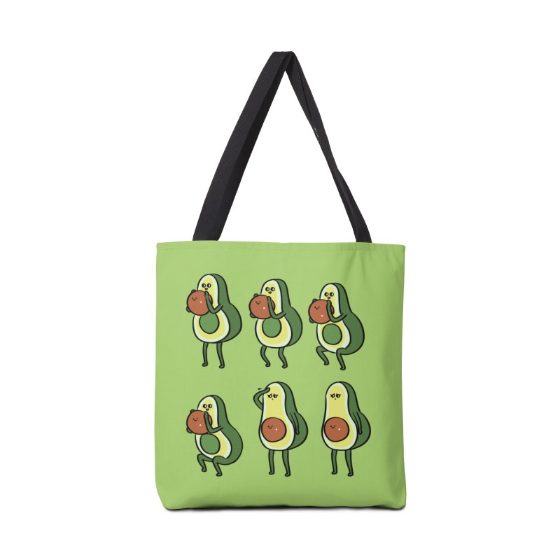 Avocado Goblet Squat Accessories Bag by huebucket's Artist Shop