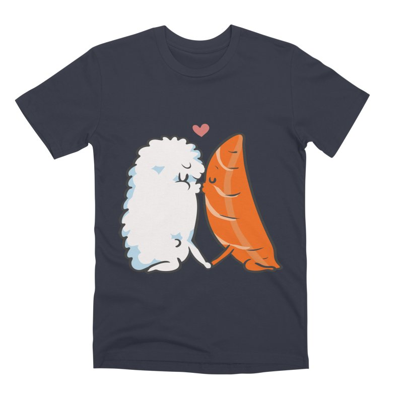 Sushi Kisses Men's Premium T-Shirt by huebucket's Artist Shop