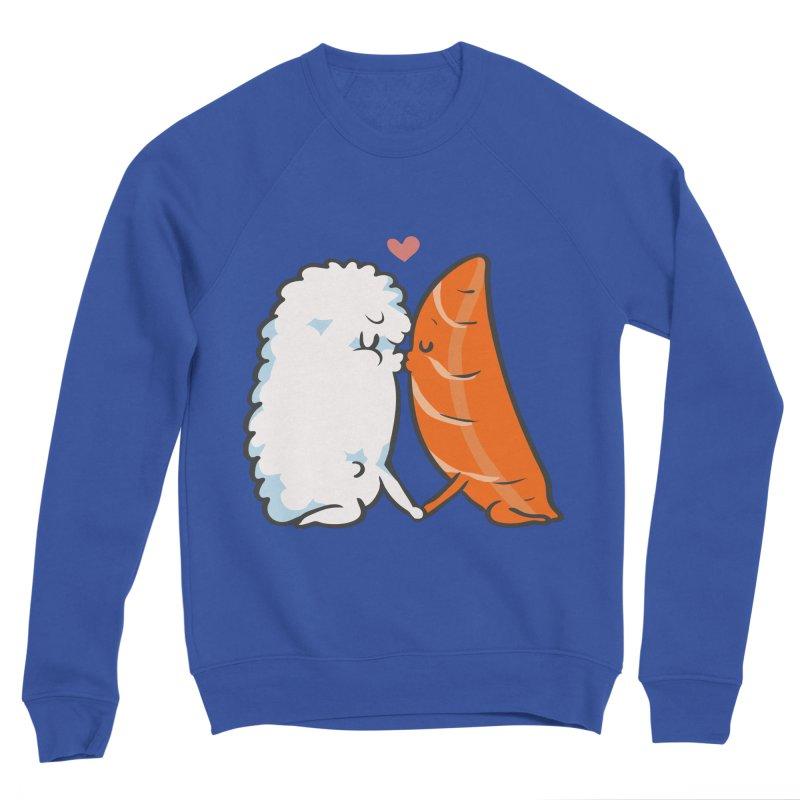 Sushi Kisses Men's Sweatshirt by huebucket's Artist Shop