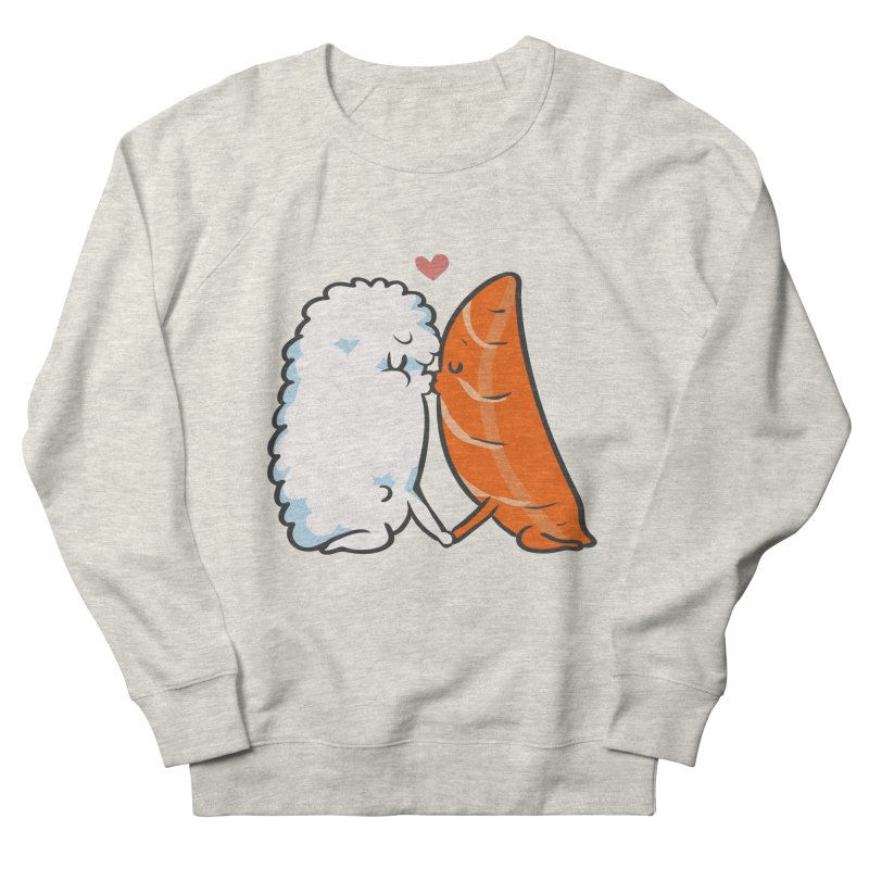 Sushi Kisses Women's French Terry Sweatshirt by huebucket's Artist Shop