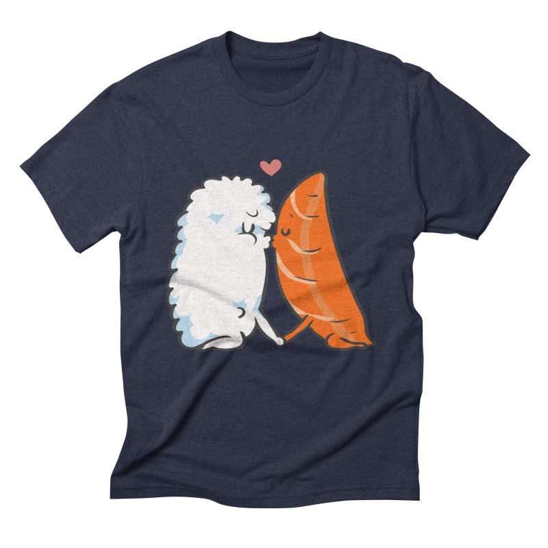 Sushi Kisses Men's Triblend T-Shirt by huebucket's Artist Shop