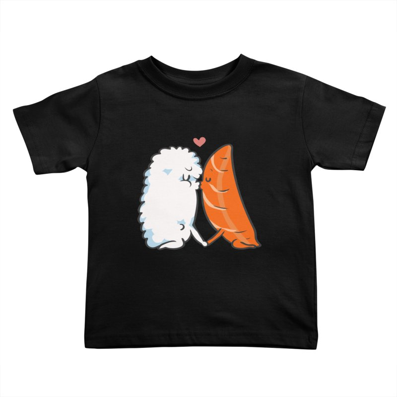 Sushi Kisses Kids Toddler T-Shirt by huebucket's Artist Shop