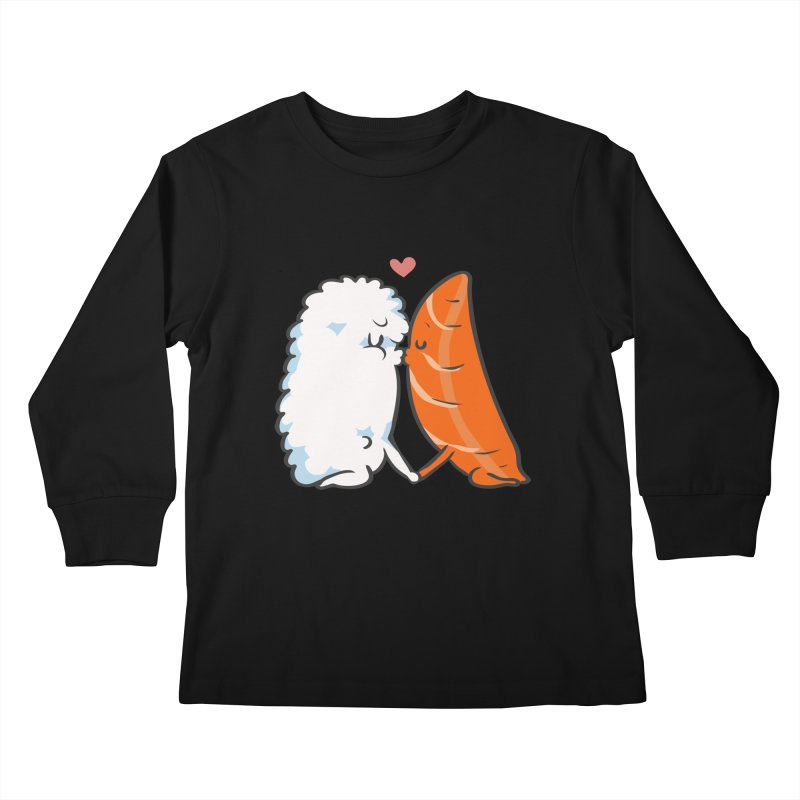 Sushi Kisses Kids Longsleeve T-Shirt by huebucket's Artist Shop