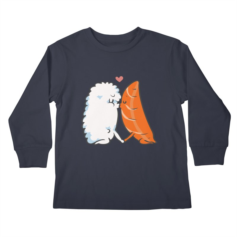 Sushi Kisses Kids Longsleeve T-Shirt by huebucket's Artist Shop