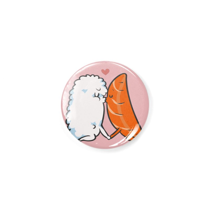Sushi Kisses Accessories Button by huebucket's Artist Shop
