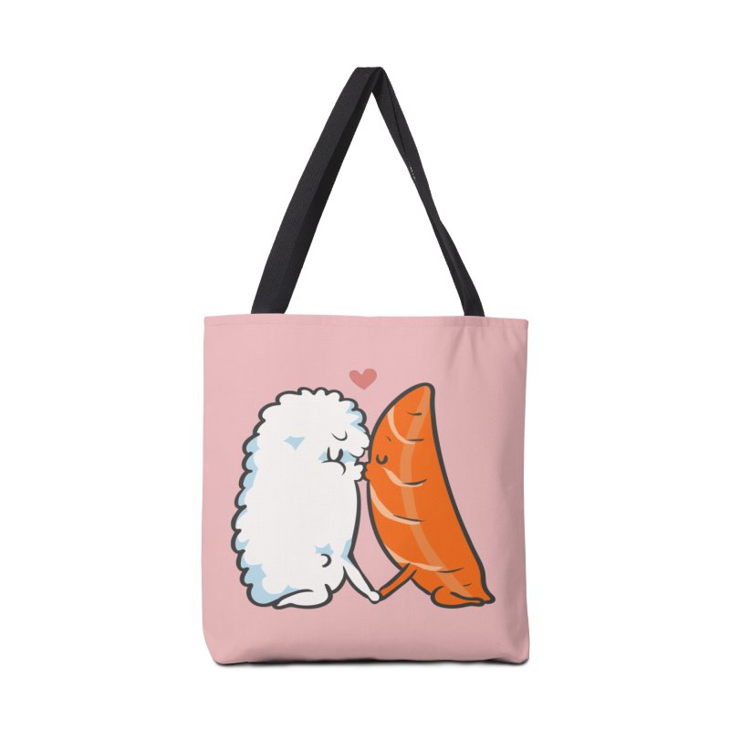 Sushi Kisses Accessories Tote Bag Bag by huebucket's Artist Shop