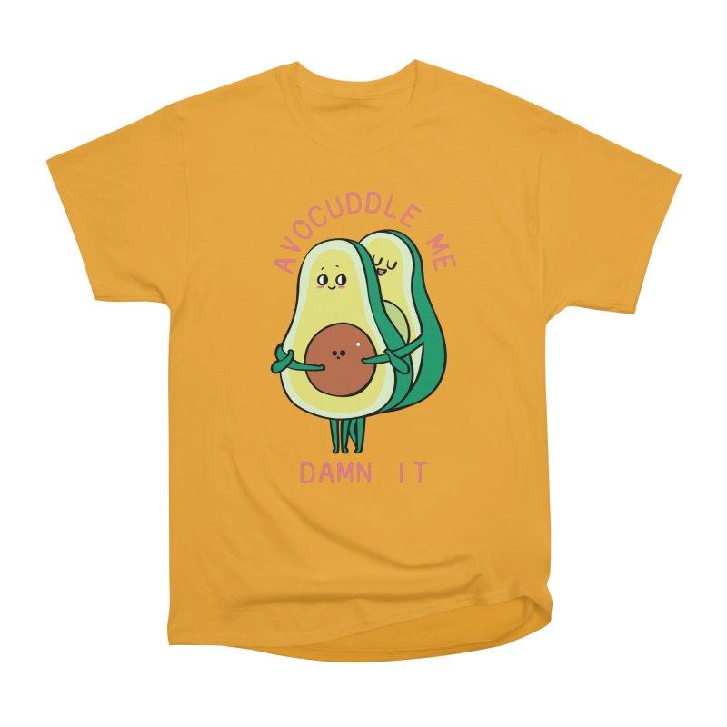 Avocuddle Me Damn It Men's Heavyweight T-Shirt by huebucket's Artist Shop